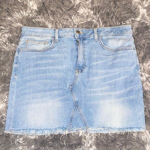 Forever 21 Denim Jean Skirt